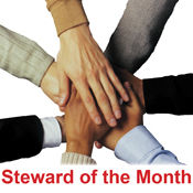 Steward of the Month
